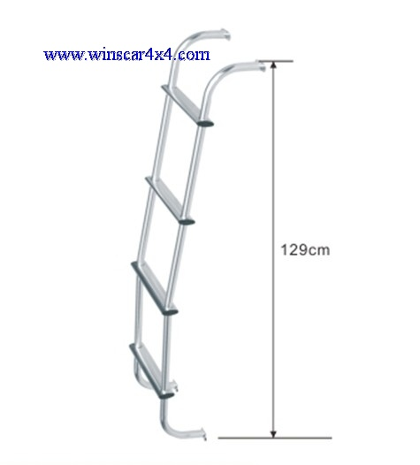 Alu.Rear Ladder (Silver)