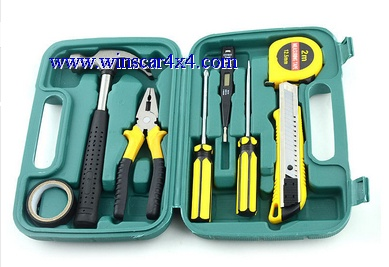 9 Pcs of Car Repair Tool Set/ Car Emergency Tools