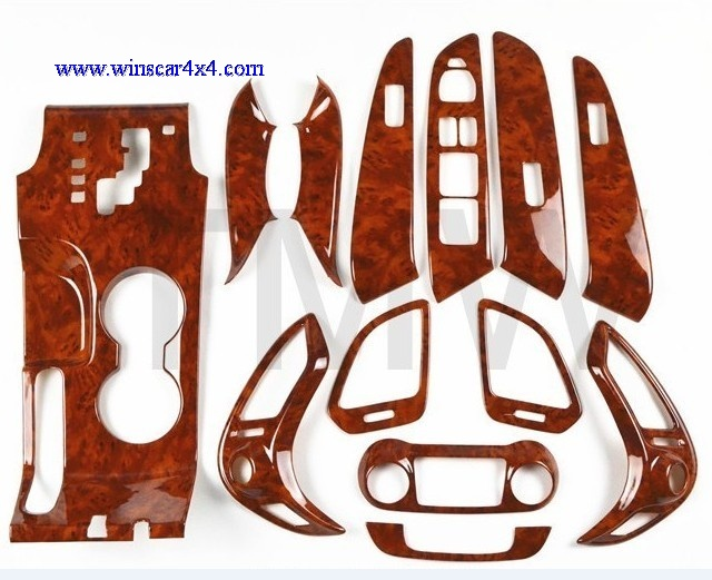 Wooden Dashboard Kit For Hyundai IX35 2010