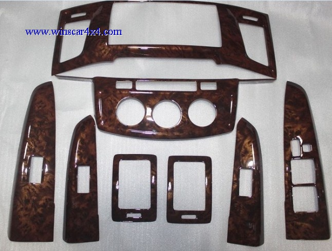 Wooden Dashboard Kit For Toyota Hilux Vigo 2012