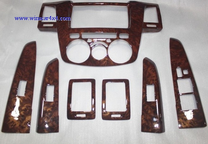 Wooden Dashboard Kit For Toyota Hilux Vigo 04-07