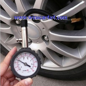 Multifuncition Tire Pressure Gauge
